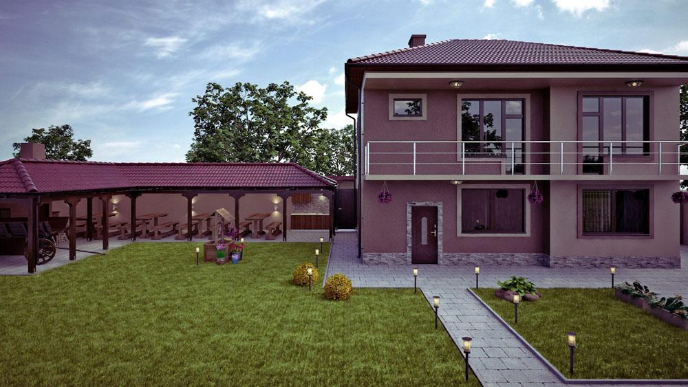 Проект на селска къща