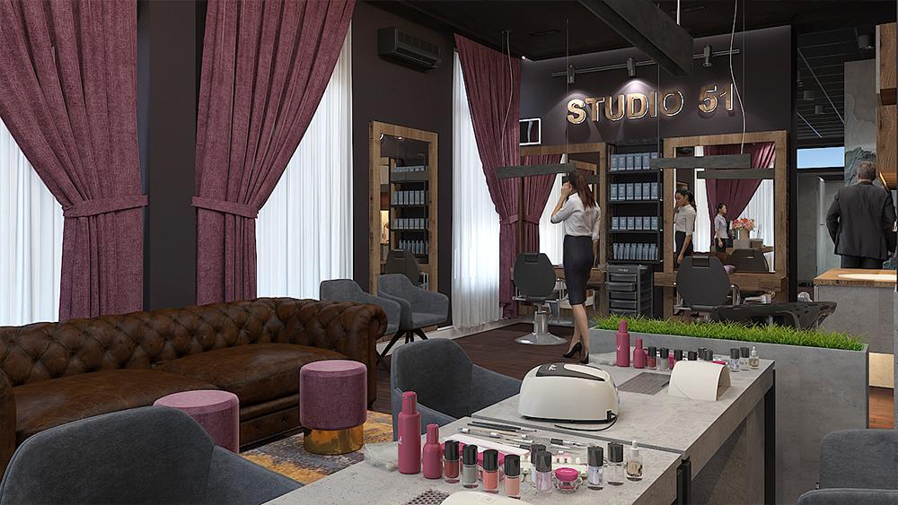 """Салон за красота """"Studio 51"""""""